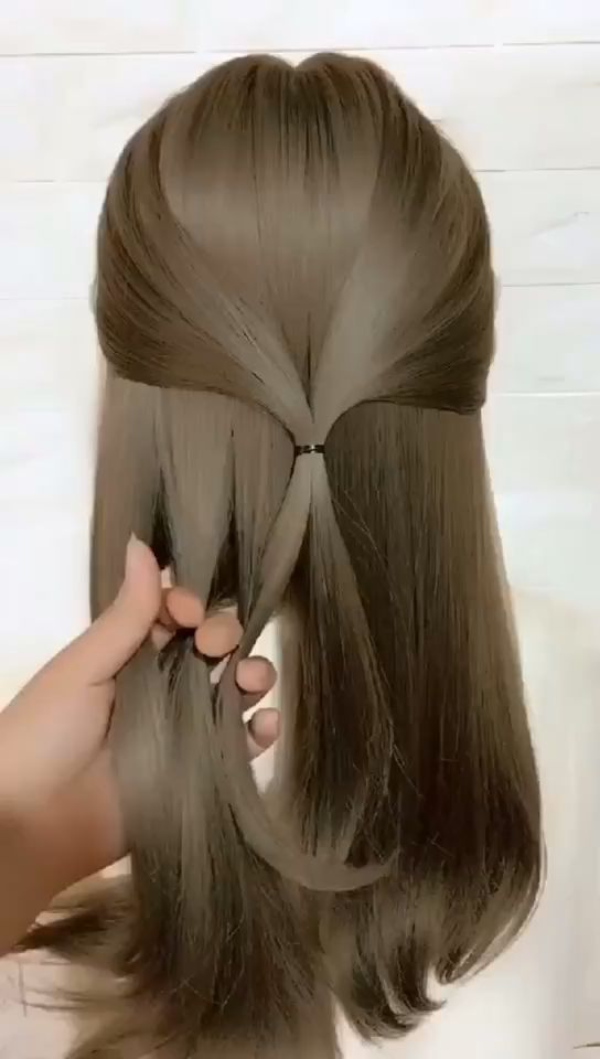 Hairstyles Kids Can Do Themselves Easy In 2020 Long Hair Video Hair Videos Long Hair Styles