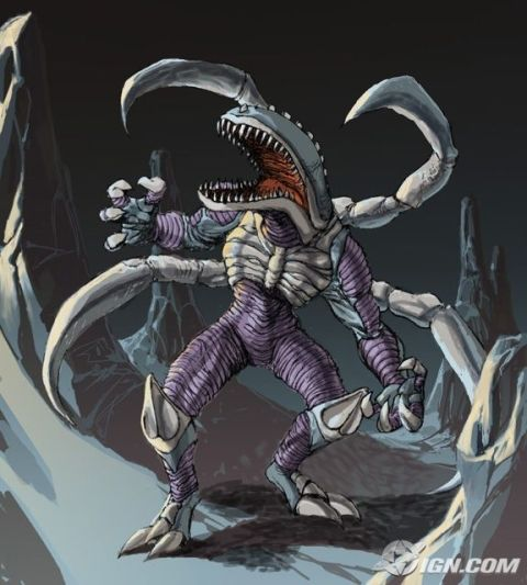 The Visitor, a rejected new monster for Godzilla: Unleashed