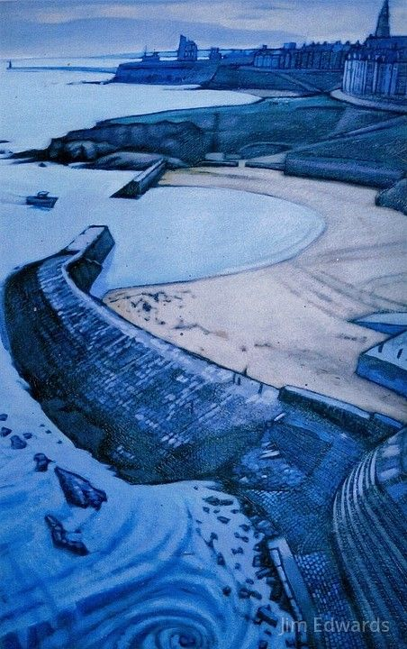Cullercoats Bay by Jim Edwards.
