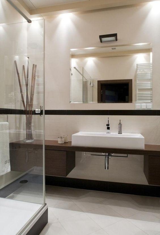 26 id es d 39 am nagement salle de bain petite surface for Petite salle de bain avec douche italienne photos