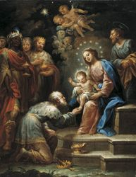 Adoración de los Reyes Magos Jerónimo de Ezquerra
