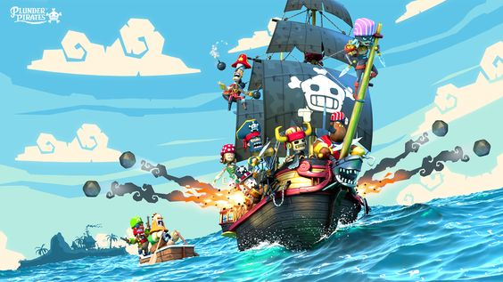 Plunder Pirates by Dan MN