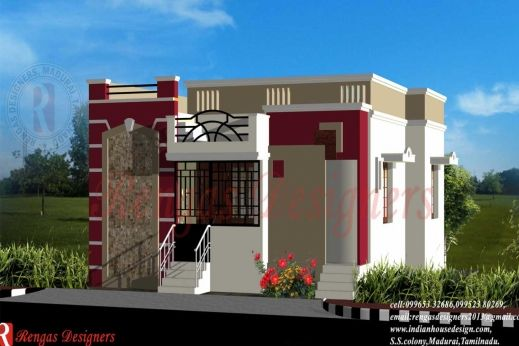 1000 Sq Ft House Plan Indian Design With Images Modern House