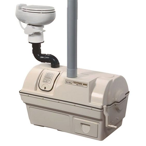 Sun-Mar Centrex 2000 NE Central Composting Toilet System