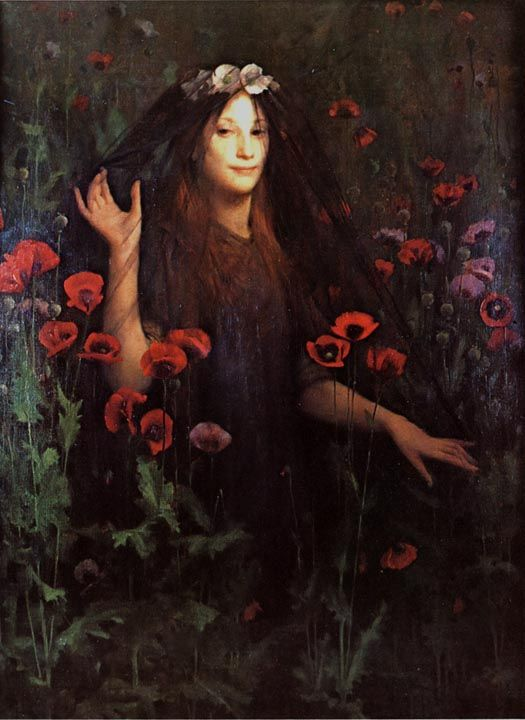 Thomas Cooper Gotch: Death the Bride: