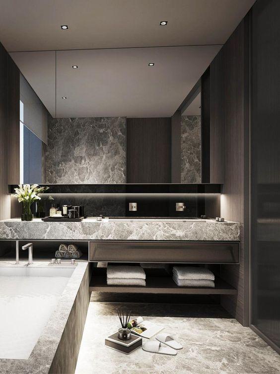 Luxury 5 Star Hotel Bathroom Design