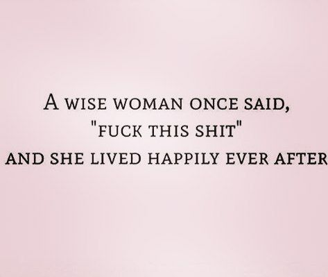 This wise woman could have been anyone of my BFFs!