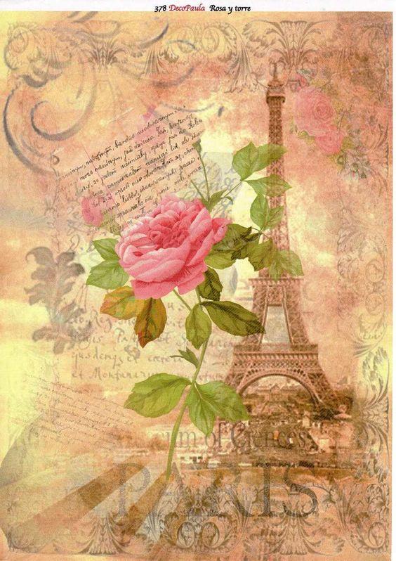 Foros decoupage laminas y trabajos con flores chik - Laminas decorativas para pared ...