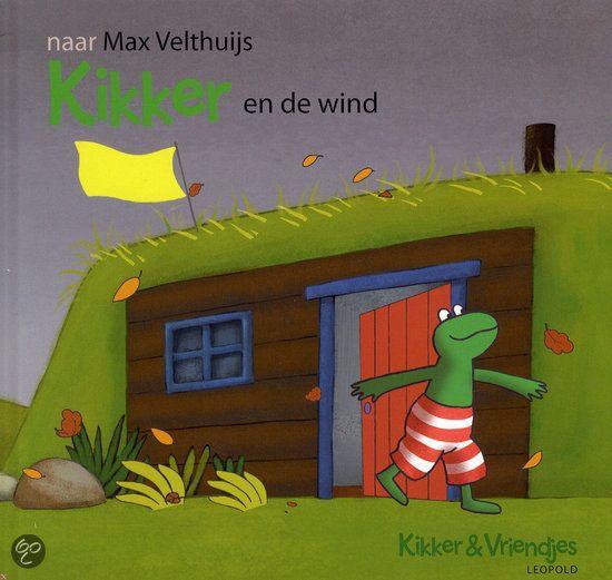 Kikker en de wind, naar Max Velthuijs (uitg. Leopold)