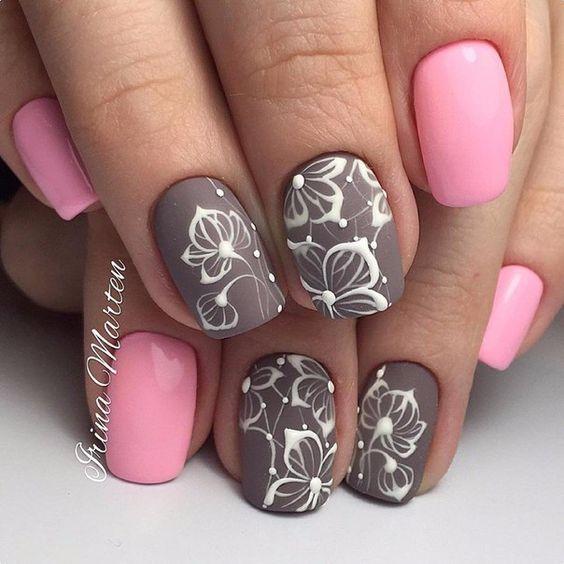 Маникюр - дизайн ногтей: