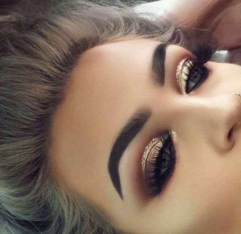 مكياج عرايس Perfect Makeup For Weddings Beautiful Makeup Eye Makeup Hair Makeup