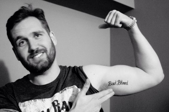bastille dan tattoo