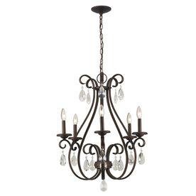 Portfolio 5 Light Bronze Chandelier – Chandeliers Design:Portfolio 5 Light Olde Bronze Chandelier Dining House,Lighting