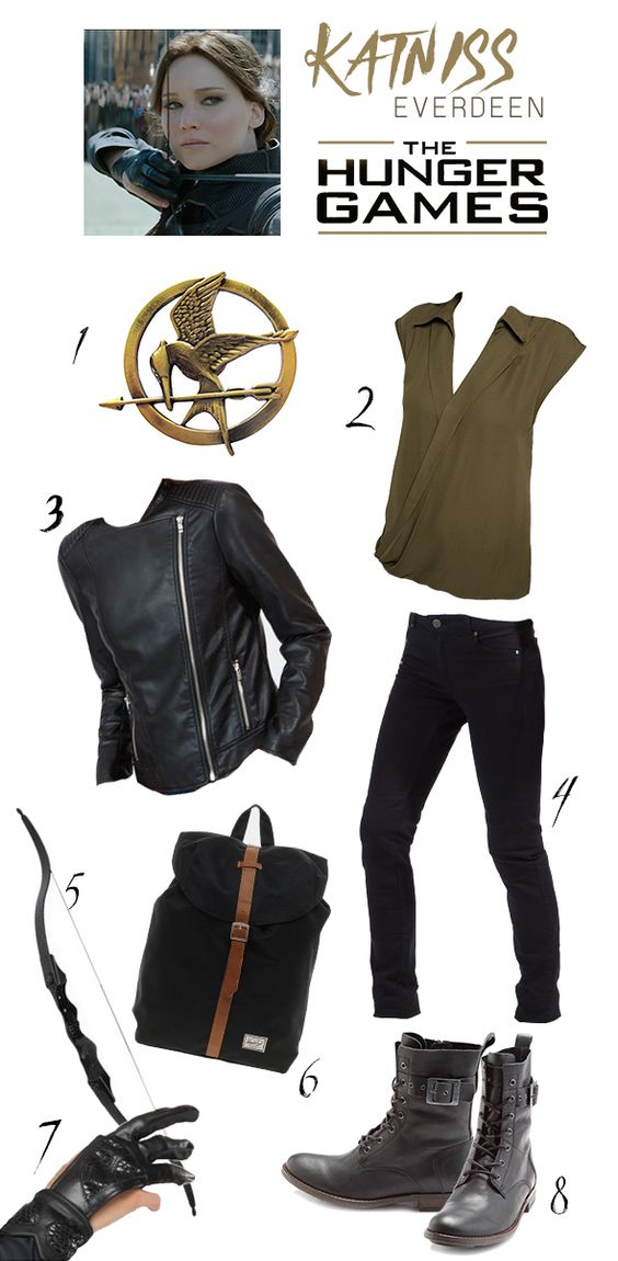Katniss Everdeen Hunger Games Outfits And Games Outfits On Pinterest