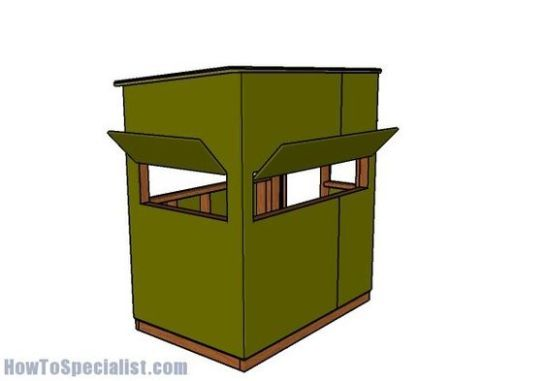 20 Free Diy Deer Stand Plans And Ideas Perfect For Hunting Season Deer Stand Deer Stand Plans Shooting House
