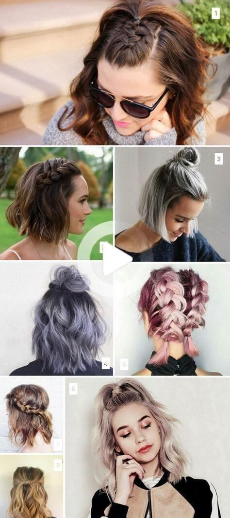 Online Portal About Hairstyles Healthy Recipes And Beauty In 2020 Short Hair Styles Easy Hair Styles Thick Hair Styles