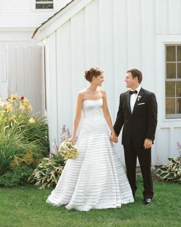 Bride and groom attire for every style of wedding
