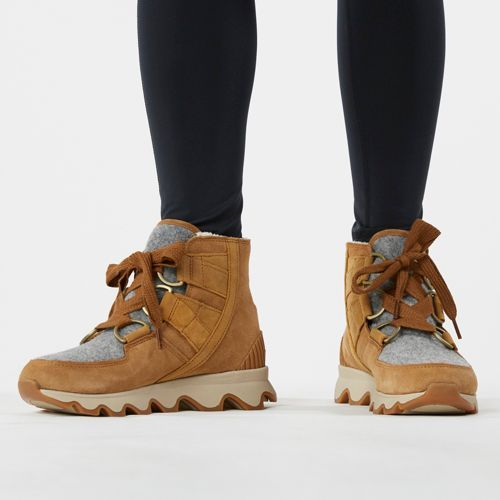 Kinetic Short Lace Winter Boots