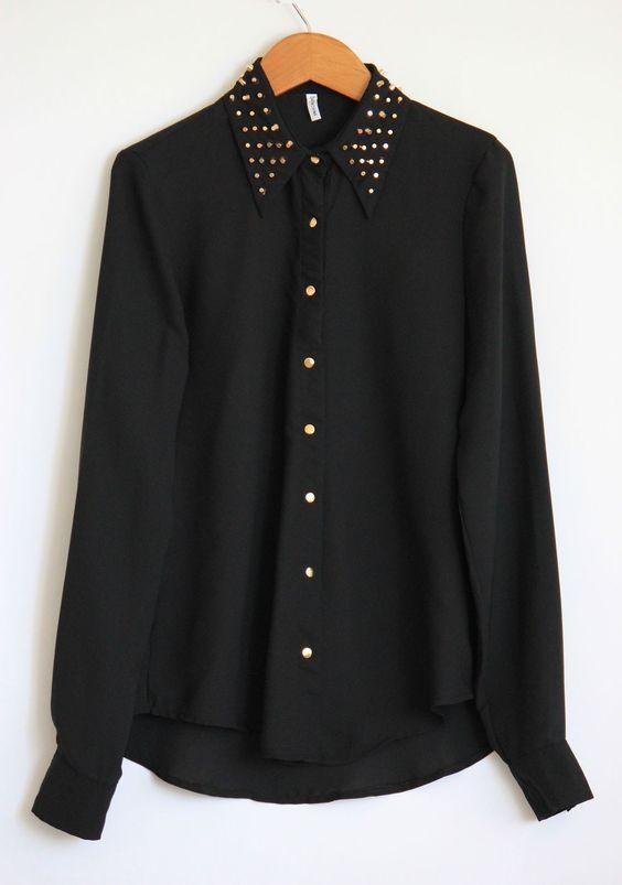 Girls Shirt Collar Types