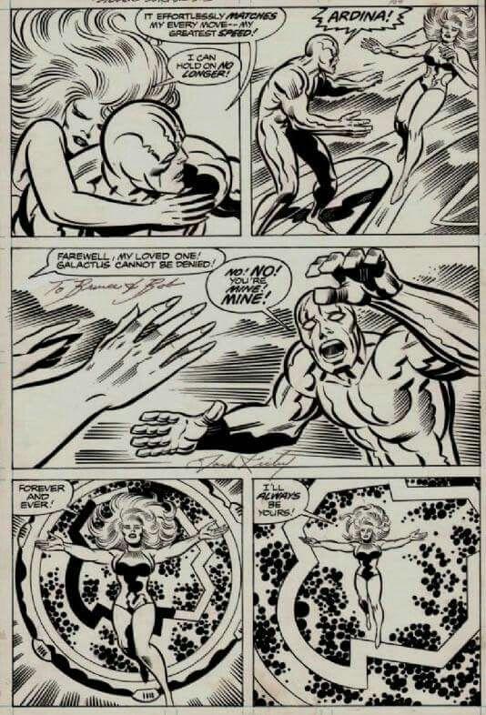 Jack Kirby and Sinnot