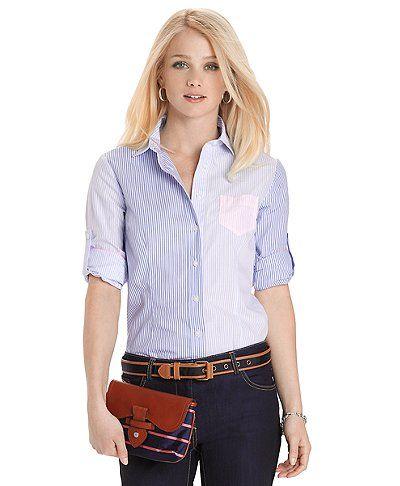 Tailored Fit Multi Stripe Fun Shirt | Brooks Brothers
