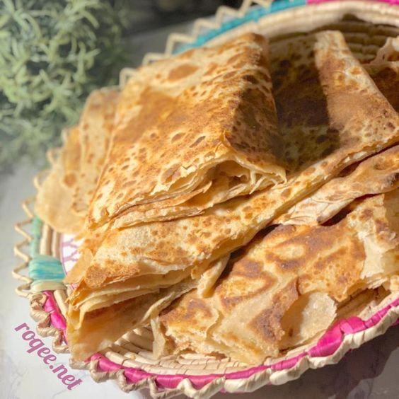 طريقة عمل خبز الطاوة خبز معطف ر قي Food Bread