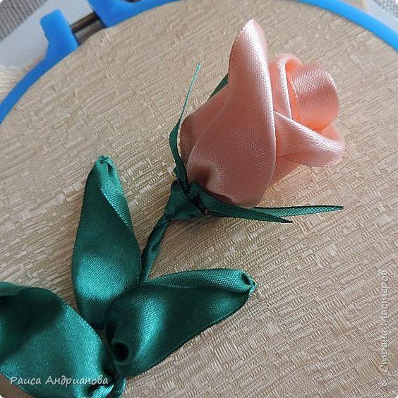 Вышивка лентами розы и бутоны мастер класс видео