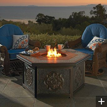I want this fire pit SOO bad!