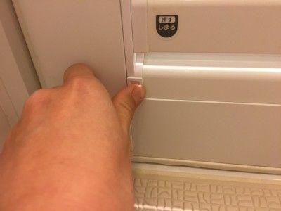 浴室ドアの換気口 ガラリ がはずれました 掃除が超ラクに 掃除