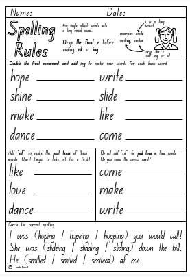 Adding Ing To Words Worksheets #1 | Dots phonics | Pinterest ...