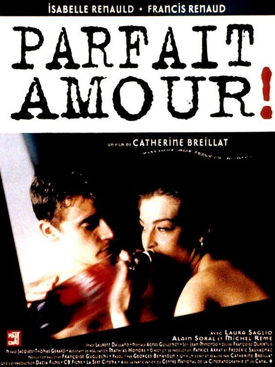 """Parfait amour , F '96  , by Catherine Breillat  ; with Isabelle Renauld (30) , Francis Renaud (29) /// """"Isabelle Renauld"""" 40enne medico e madre di due ragazzi ,si innamora di """"Francis Renaud"""" un ragazzo instabile di 12 anni più giovane , che , violandola , la ucciderà  /// f>"""