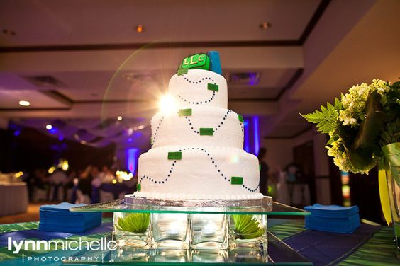 Unique Cakes Travel Themed Weddings And Themed Wedding