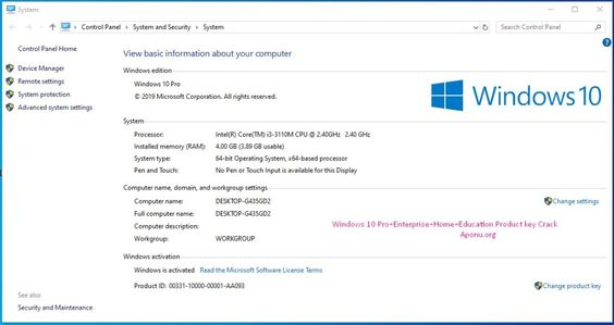 All Windows 10 Pro Activation Key Generator Using Windows 10 Windows 10 Microsoft Corporation