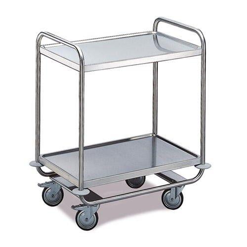 GTARDO.DE:  Tischwagen 2 Etagen, Tragkraft 160 kg, Ladefläche 1000x600 mm, Maße 1100x700 mm 382,00 €