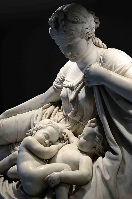 Latona and her Children, Apollo and Diana, 1874, William Henry Rinehart