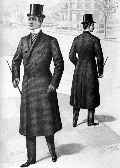 Victorian Era Men's Clothing - Men's Fashion in 1880s London