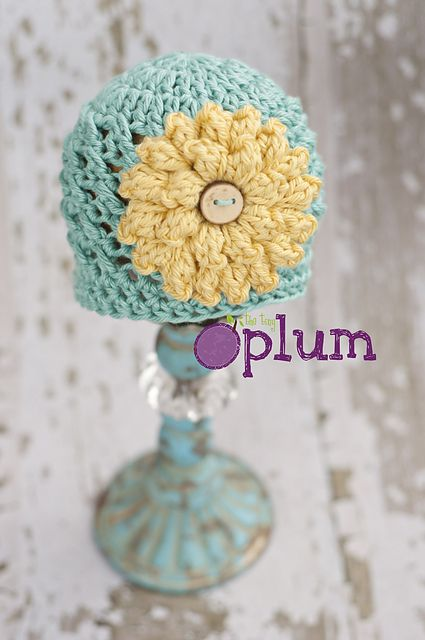 Free Crochet Pattern Baby Hat Flower : Ravelry: Emery Beanie pattern by Stephanie MacDerment ...