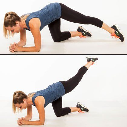 Knee injury, The triangle and Shape magazine on Pinterest