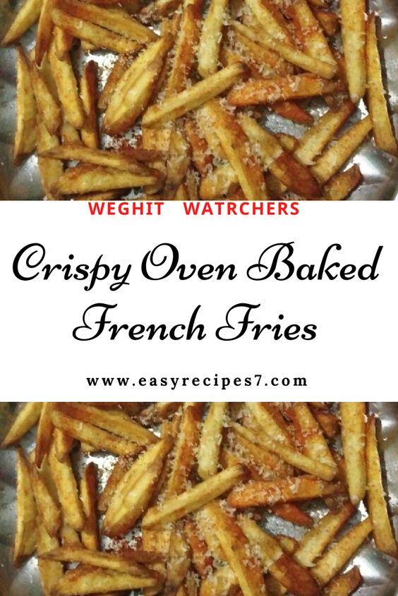 Crispy Oven Baked French Fries #Crispy #Oven #Baked #French #Fries #easy #recipes #dishes