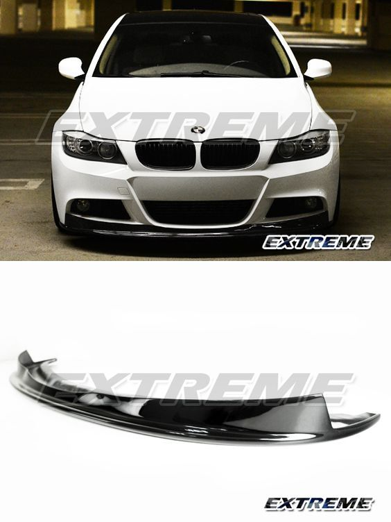 2008 Bmw 328i Accessories : accessories, Painted, Black, Clearcoat, Sport, Bumper, Front, Sports, Coupe