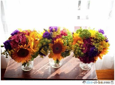 Wildflower Bouquet classy-country