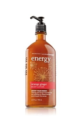 Bath and Body Works Orange Ginger lotion. LOVE