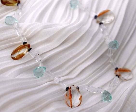 Colar pedras naturais a venda na loja online: www.patbijoux.com