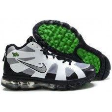 Nike air max griffeys fury 2012 gray/black/green shoes