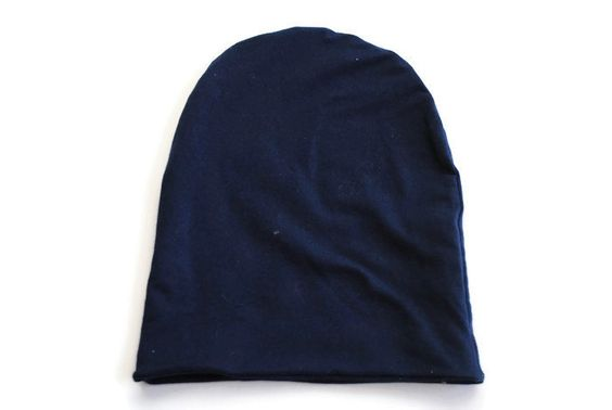 Navy Blue Slouchy beanie Hat - kids hat - slouch hat - slouchy beanie - baby accessories