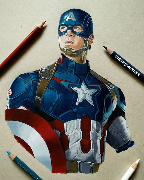 Learn How To Draw Falcon From Captain America Civil War: Awesome, Captain America Civil War And Heroes On Pinterest