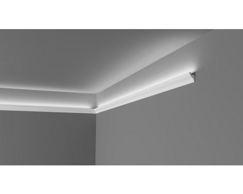 Wandleiste Cl11 Fur Led Lichtbander Weiss 2 M Led Lichtband