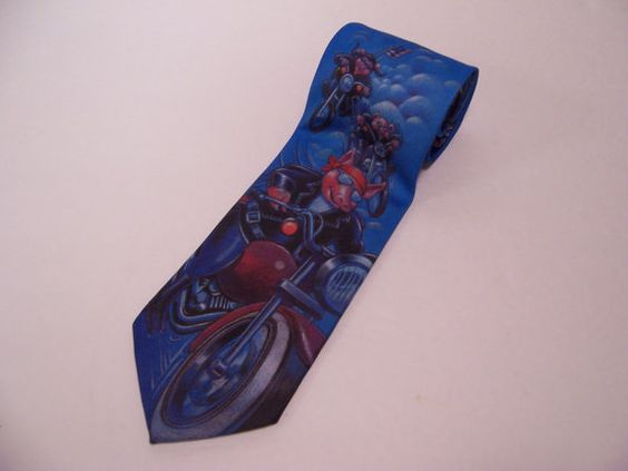 FREE SHIPPING Vintage 90's Character Tie by ChondashersApparel