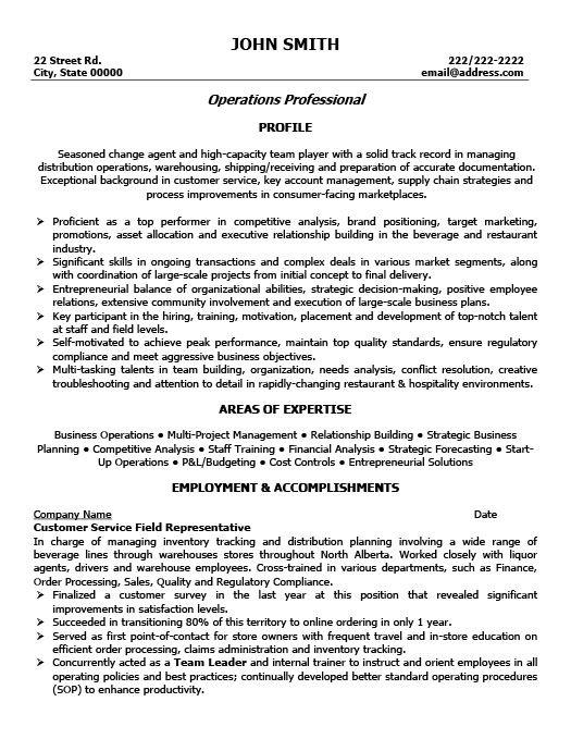 Customer Service Administration Resume Template Premium Resume - customer service accomplishments