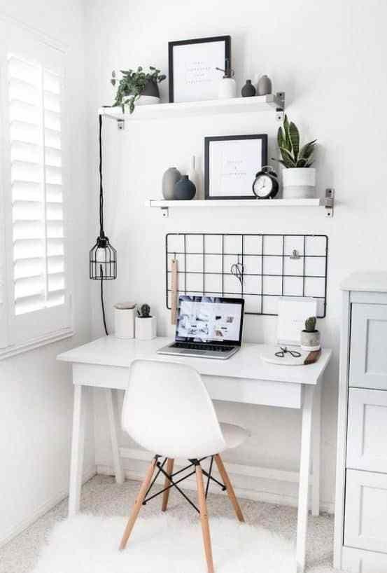 10 Cute Desk Decor Ideas For The Ultimate Work Space Cute Desk Decor Home Office Design Minimalist Home
